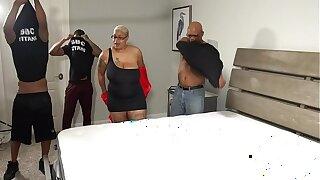 BBC Titans Gang Bang With LadyOnyxxx