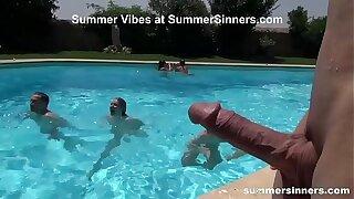 Summer Pool Sex Games