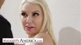 Naughty America - Kenzie Taylor knows how to stop a burglar, Fuck Him!!!
