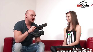 REAL GERMAN TEEN VIRGIN AT CASTING – SHE ONLY WANTS ANAL