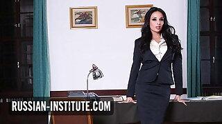 Busty big tits teacher Anissa Kate needs anal sex