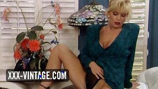Tiffany Million enjoys a vintage threesome