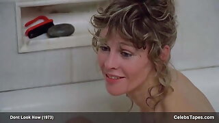 Julie Christie, nude topless and sex in Don't Look Now, 1973