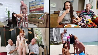 BLUE PILL MEN - Old Dudes Fucking Hot Teens, Featuring Kharlie Stone, Dolly Little & More!